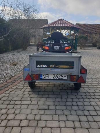 Przyczepa przyczepka samochodowa quad traktorek wywrotka rejestrowana