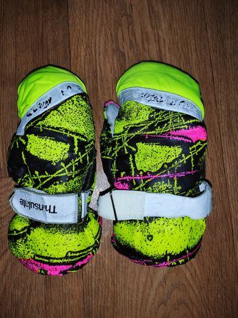 Лыжные варежки рукавицы рукавички 3-6л.