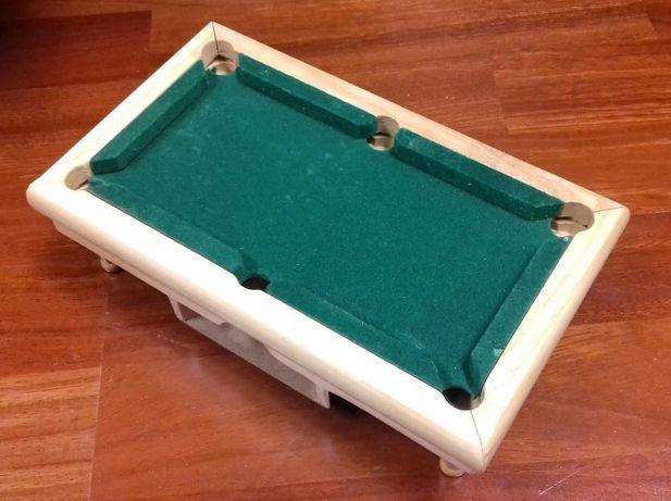 Mini Jogo de Snooker (vintage)