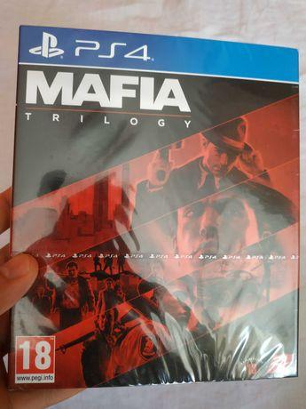 PS4 Mafia Trylogia PL Trilogy 3 x CD Mafia 1 Mafia 2 Mafia 3