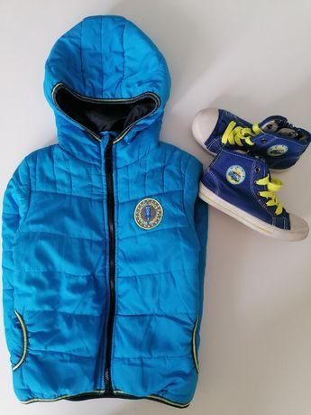Куртка, ветровка деми голубой цвет 3-4года