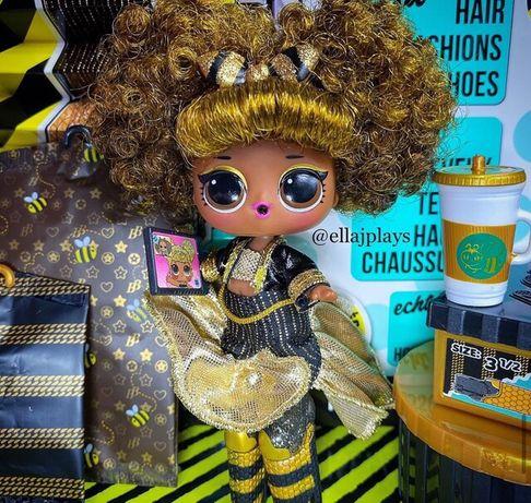 Lol Лол JK King Bee королева пчела . С волосами . Оригинал. В наличии.