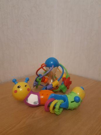 Шар Playgro погремушка игрушка гусеница
