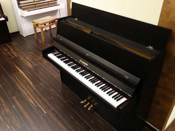 pianino FAZER CZARNE idealne gwarancja
