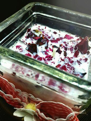 Sojowa Świeca Różana handmade