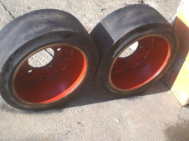 rodas macissas de borracha para empilhador