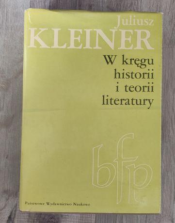 W kręgu historii i teorii literatury J.Kleiner 1981