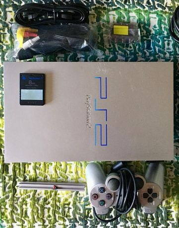 Consola Sony Playstation 2 PS2 Comando Cartão Memória