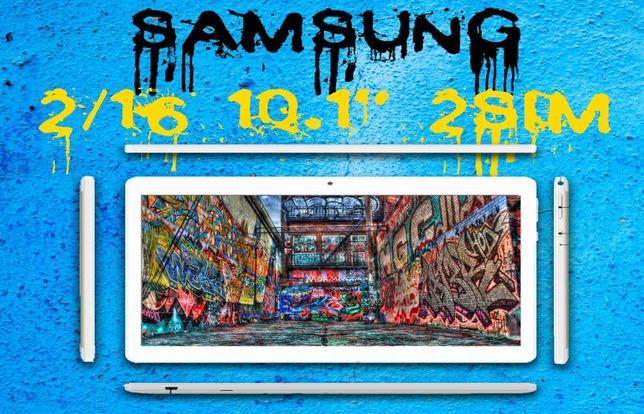 Новинка 2020! 10.1' Samsung Galaxy Tab планшет 2/16 Гб, Wi-Fi, 2 sim!