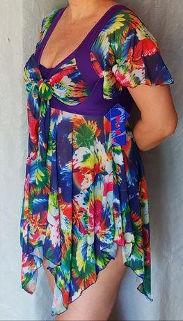 Платье -купальник, размер 52/54