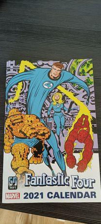 Marvel Kalendarz 2021 Fantastic Four Fantastyczna Czwórka