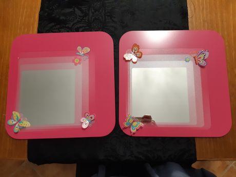 Espelhos do ikea