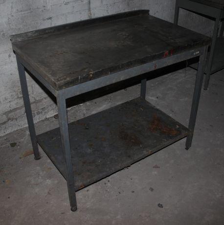 Стол производственный с полкой 100х60х85 см., (Украина), Б/у 71227