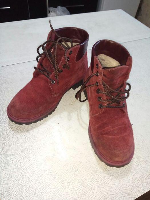 Зимние ботинки 35 размер 22 см. Киев - изображение 1