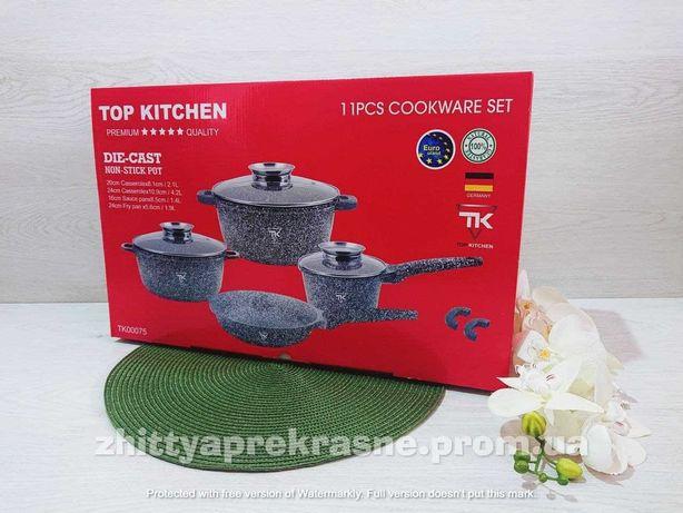 Набор кастрюль со сковородой и сотейником Top Kitchen