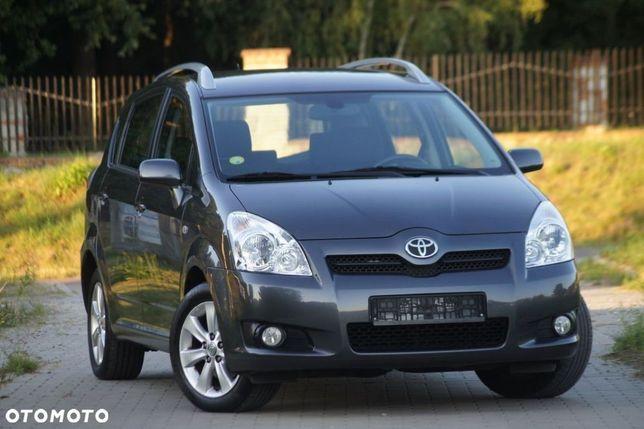 Toyota Corolla Verso 1.6 Benzyna 2008R Serwis Bezwypadkowy...