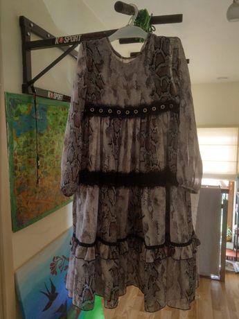 MałaMI - Sukienka dziecięca - rozmiar 140