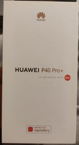 Huawei P40 Pro + 5G 8GB/512GB - Ceramic Black Novo