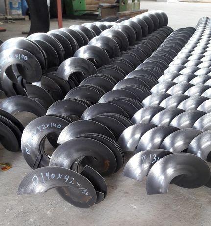 Цельнотянутые шнековые спирали от производителя