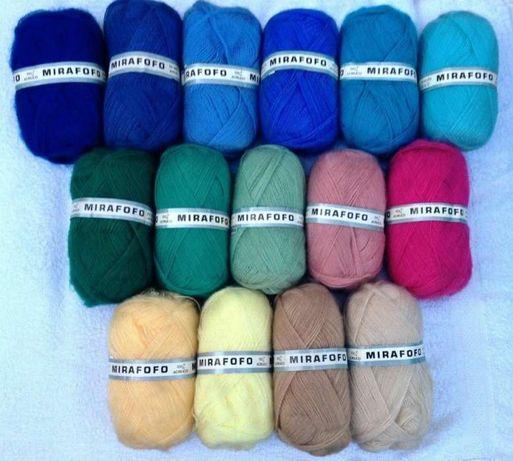 Fios tricot liquidação preço 10 novelos