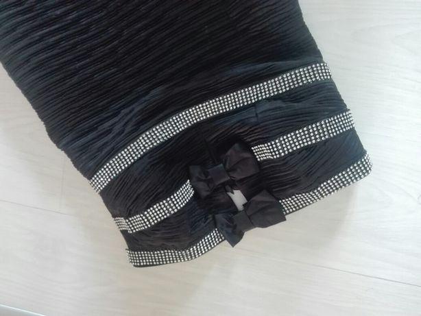 sukienka kokardy cyrkonie r38/40 okolicznościwa
