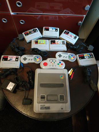 Super Nintendo (snes) rarytas retro game.