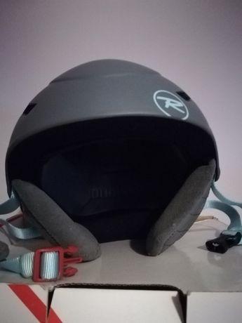 Sprzedam kask narciarski młodzieżowy Rossignol Toxic 2.0 rozmiar 60 cm