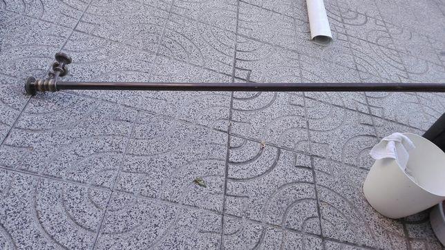 Varão de aluminio 3 metros