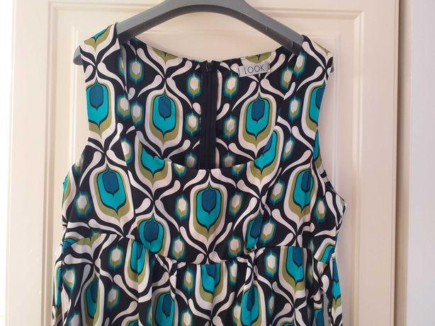 Sukienka satynowa wzory r 40