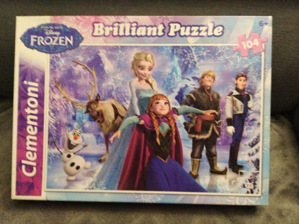 Puzzle Frozen 104 el