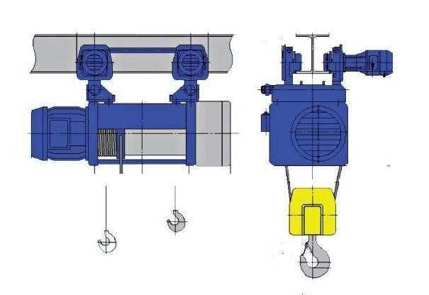 Wciągnik Linowy Elektryczny Q 5t