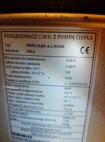 podgrzewacz c.w.u z pompa ciepła