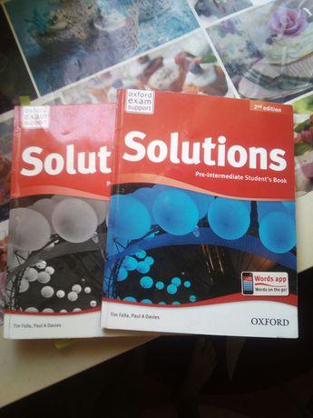"""Книга и робочая тетрадь """"Sollutions"""" Oxford"""