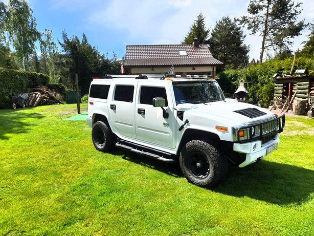 Auto do ślubu Hummer H2