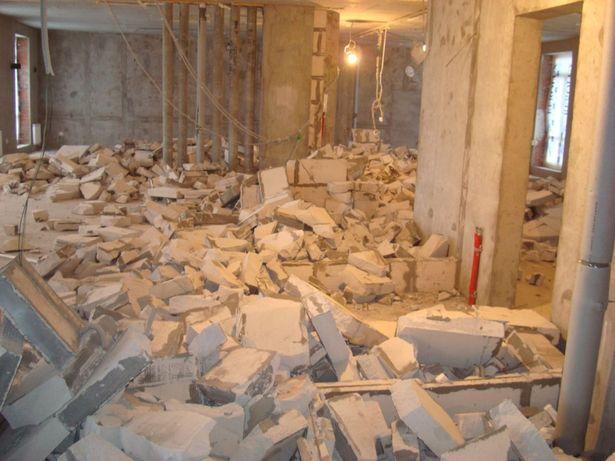 Демонтаж Запорожье. Демонтаж стен, полов, плитки, снос построек