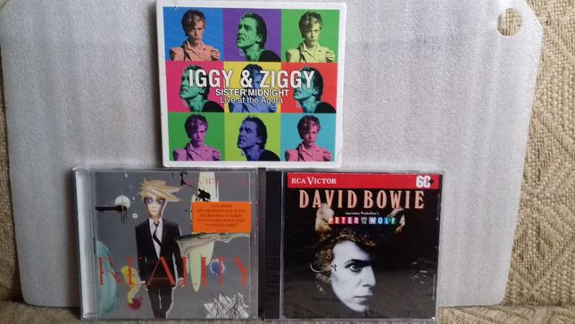 David Bowie Reality Iggy & Ziggy Sister Mignight Peter & The Wolf 3CD