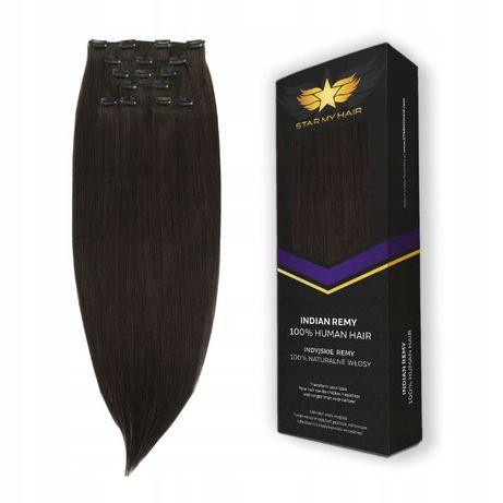 Najdłuższe włosy naturalne doczepiane CLIP-IN ON * 70-75 cm *