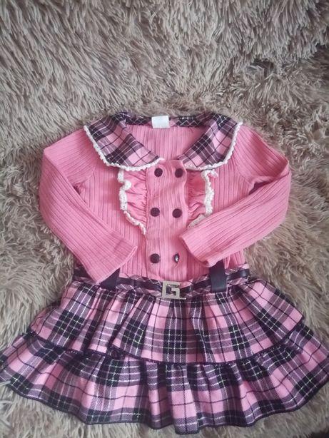 Платье 86-92см.
