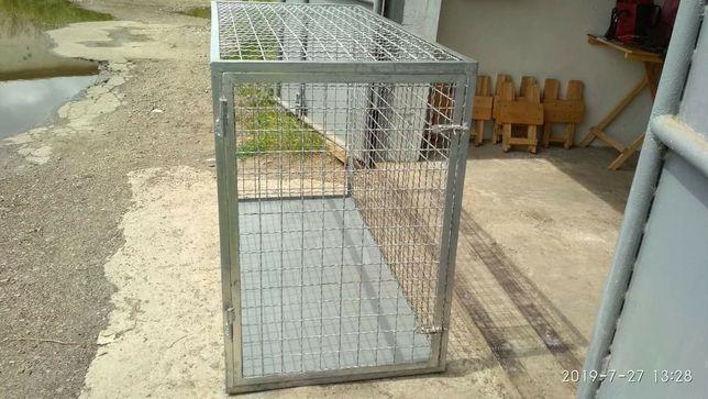 Клітка-вольєр для собак середнього розміру