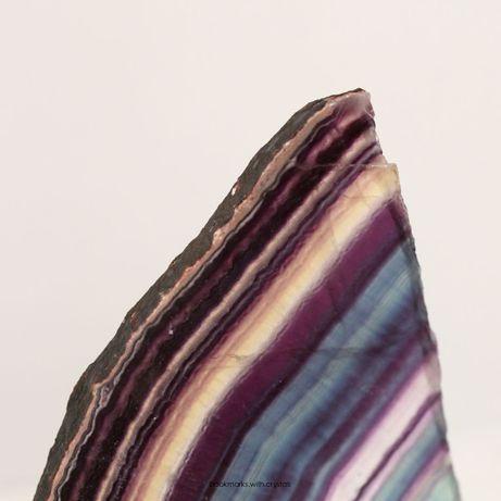 Fatia de Turmalina arco-iris colecionadores