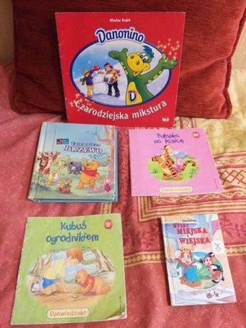 Książeczki dla dzieci zamienię na czekoladę mleczną