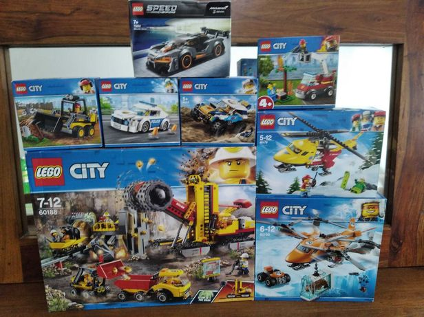 Lego City, Creator, Ninjago, Star Wars, Speed Champions