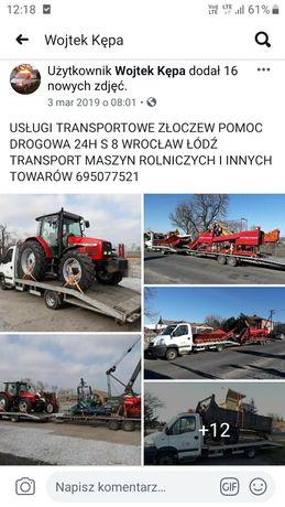 Ursus Zetor c325 c328 c330 c360 AutoLaweta Transport ZŁOCZEW LAWETA