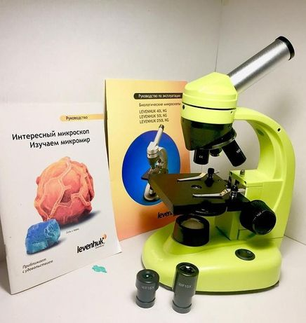 Микроскоп учебный Levenhuk 40L NG, монокулярный