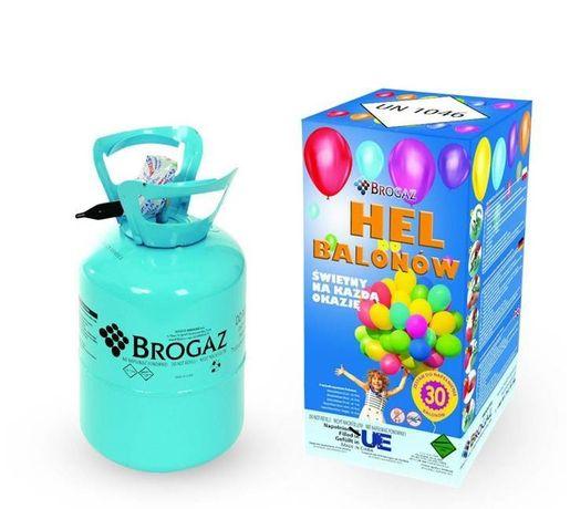 Jednorazowa butla z helm 0,25 m3 na 30 balonów