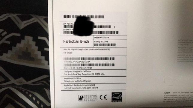 Macbook Air 13 2020 Nowy