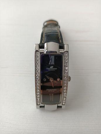 Zegarek timemaster z kryształkami swarovskiego