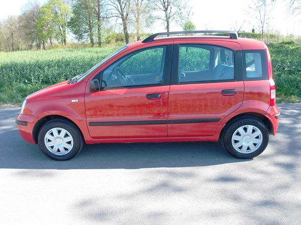 Fiat Panda w LPG (sekwencja)