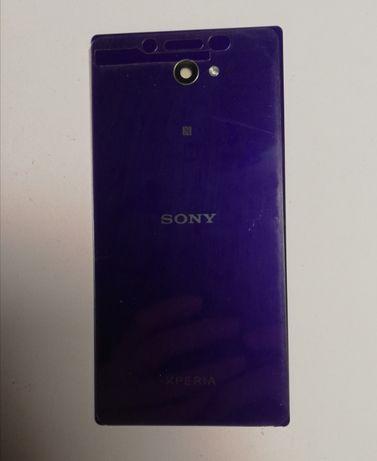 Sony Xperia M2 - tylna klapka, obudowa baterii, pokrywa tył- fioletowa