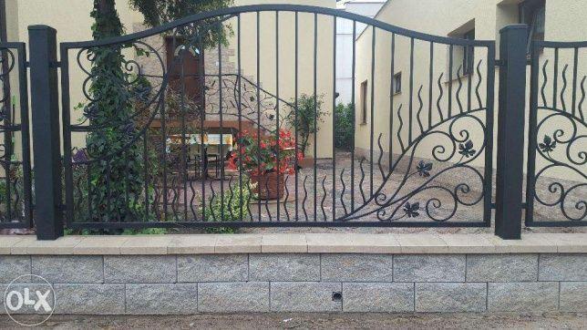 segment ogrodzenia